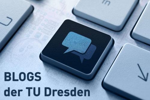 Blogs der TU Dresden Illu